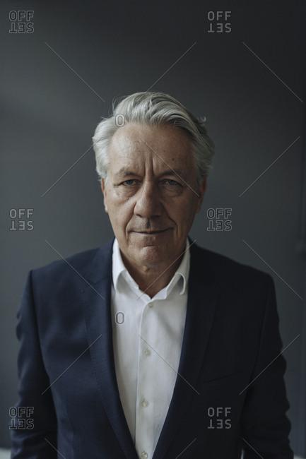 Portrait of a confident senior businessman