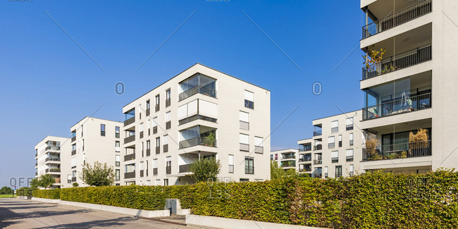 Residential condominiums in Baden-Wurttemberg, Germany