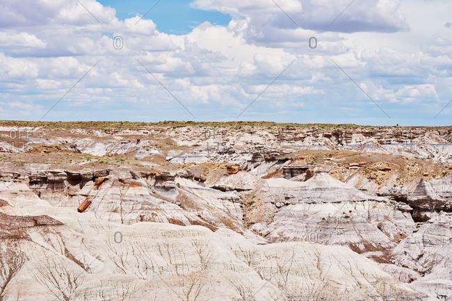 Badlands at Petrified Forest National Park, Arizona