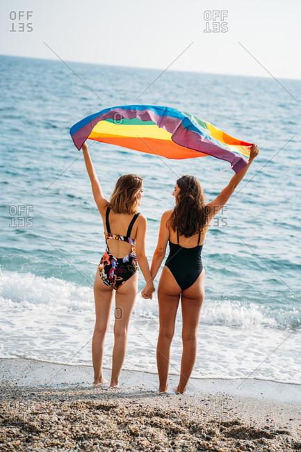 Mature lesbians in panties Lesbian Couple Back Stock Photos Offset
