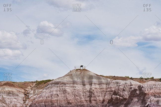 Lookout point in the Petrified Forest National Park, Arizona