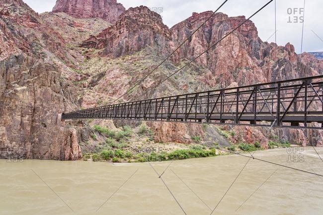 Kaibab Suspension Bridge, Grand Canyon National Park, Arizona