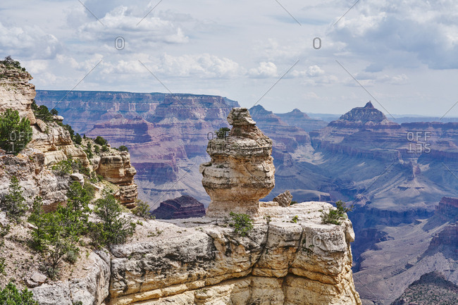 Rock formations in Grand Canyon National Park, Arizona