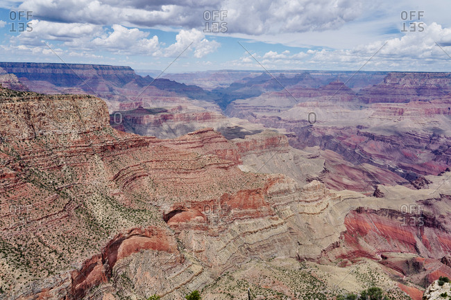 Scenic view over Grand Canyon National Park, Arizona