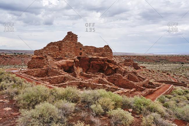 Wukoki ruins complex at Wupatki National Monument, Arizona