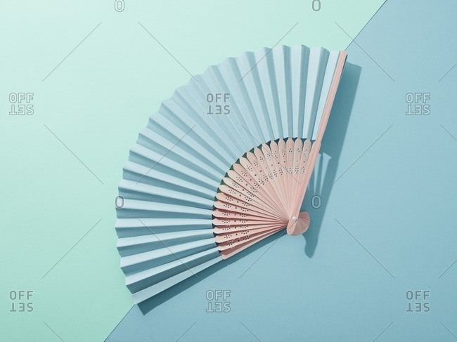 Hand fan. from the Offset Collection