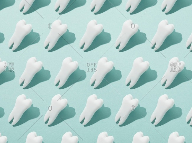 Human teeth. from the Offset Collection