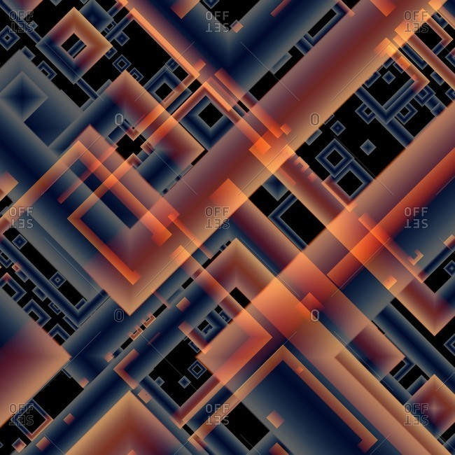 Quantum computing, illustration.