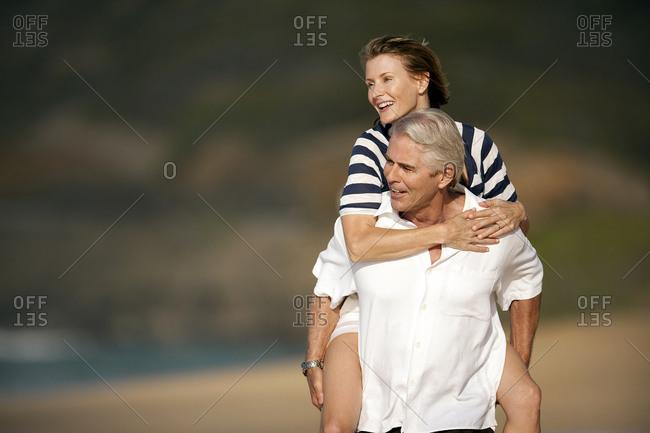 Man Fucks His Mature Wife