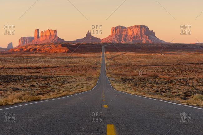 USA, Utah, Monument Valley at morning