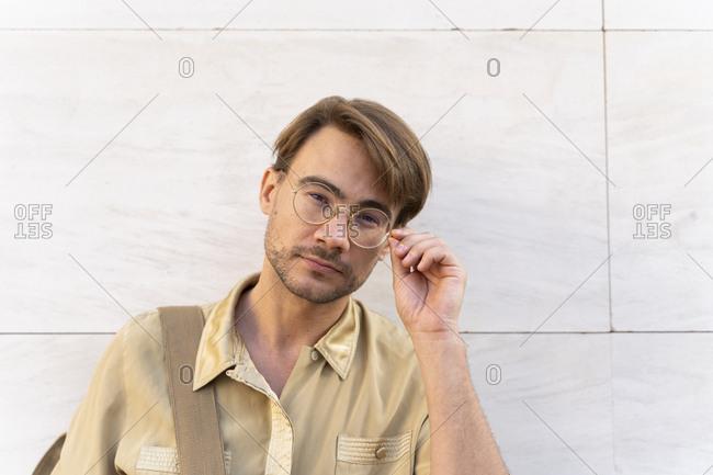 Portrait of casual businessman
