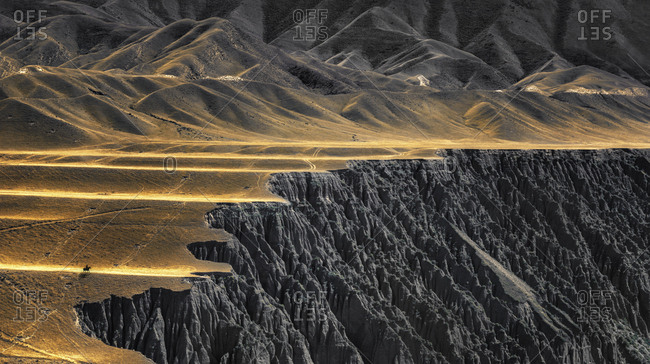 Rocky mountain cliffs