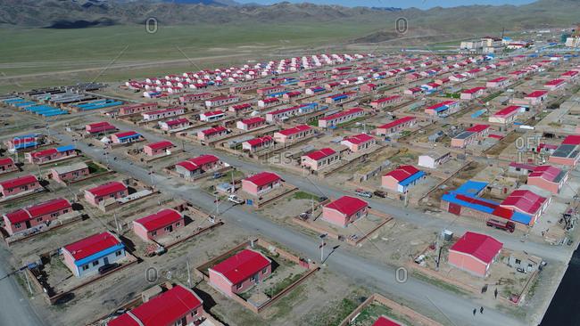 Xinjiang kazakh village
