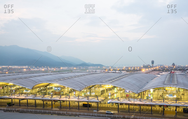 October 12, 2019: Hong Kong international airport