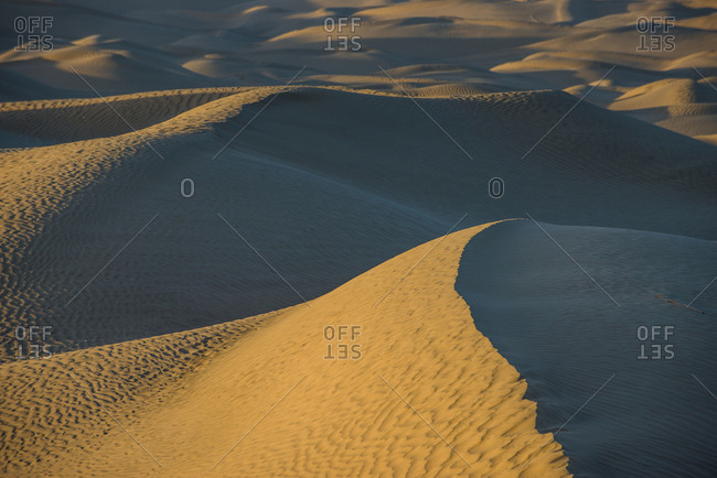 The Taklamakan desert
