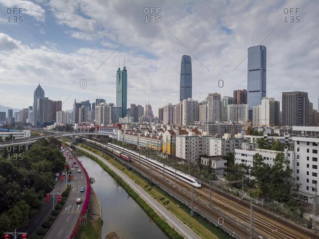Shenzhen city view