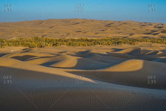 The Taklamakan desert - Offset Collection