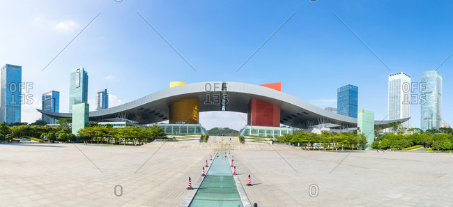 October 12, 2019: Shenzhen citizen center, China