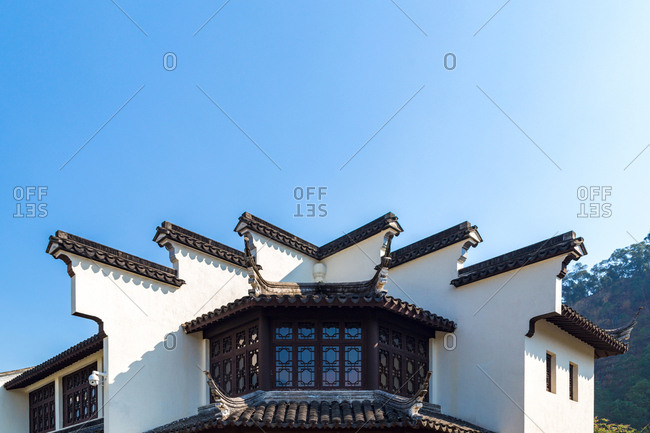 Lingnan style of ancient buildings