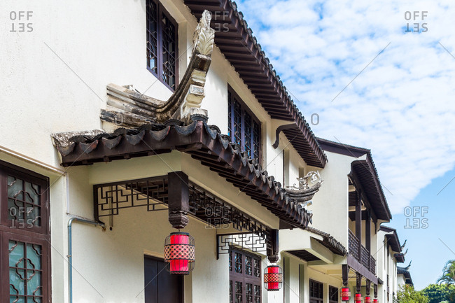 October 12, 2019: Lingnan style of ancient buildings, China