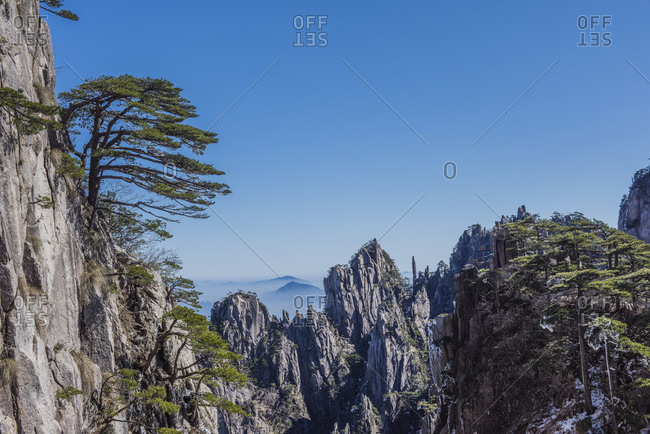 Huangshan mountain scenery - Offset Collection