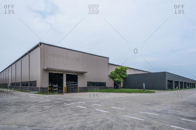 Factory building fa�ade