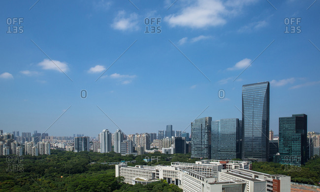 October 12, 2019: Shenzhen nanshan science and technology park, China