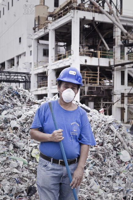 Mexico, Mexico City, Mexico City - October 29, 2011: Paper Recycling Industry