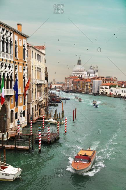 Venice, Italy - October 9, 2012: Venice Italy