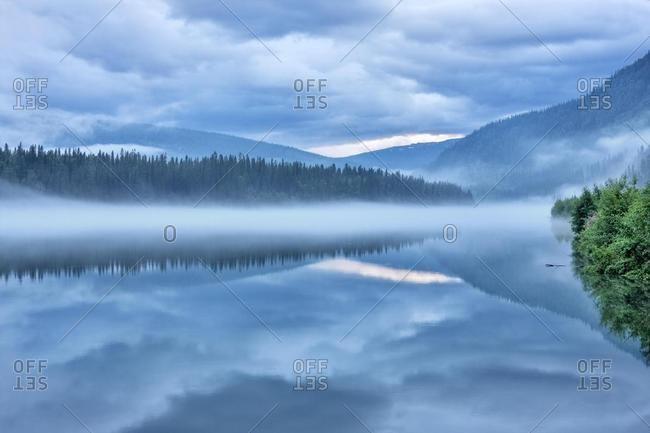 Langvassaga, Langvassaga river, Nordland county, Norway, Scandinavia, Europe