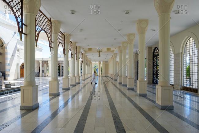 Sharif hussein bin ali mosque, aqaba, jordan.