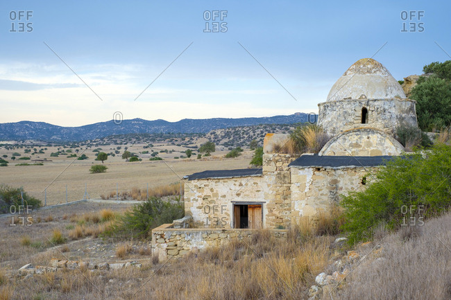 Greek orthodox church of panagia tis kyras, sazliky, cyprus