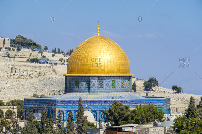 Dome of the rock, unesco world heritage site, jerusalem