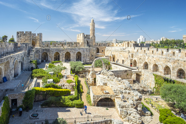 Tower of david, also known as the jerusalem citadel
