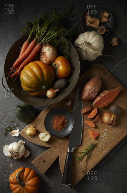 Fall harvest cooking