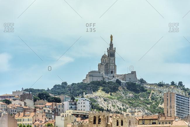 France- Provence-Alpes-Cote d'Azur- Marseille- Basilique Notre-Dame de la Garde