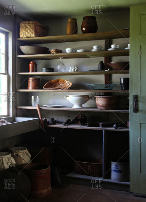 Country Farm House Pantry in Upstate New York