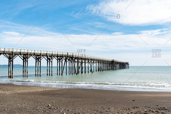 San Simeon Pier in California.