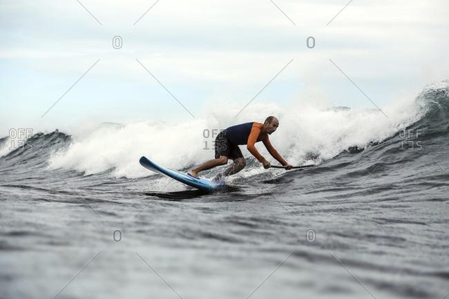 Sup surfer