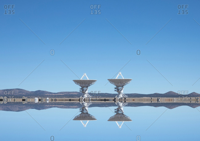 Very large Array observatory in the Socorro County, New Mexico, USA