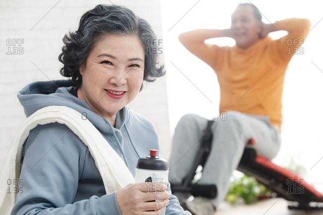 The elderly fitness