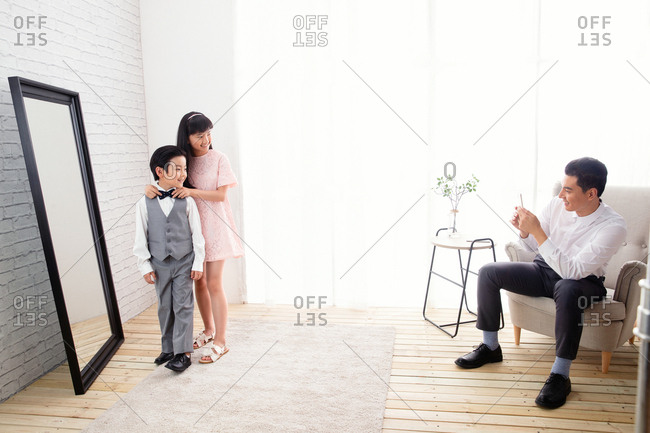 Father children's picture - Offset Collection