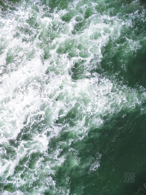 Ocean Textures from Aerial Drone