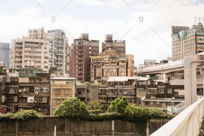 Taipei, Taiwan - November 5, 2018: Taipei Skyline