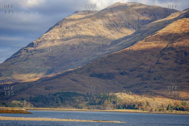 Beinn Sgulaird, Loch Creran, Argyll, Scotland