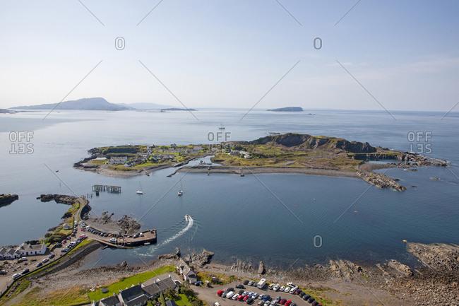 Overlooking Ellenabeich and Easdale island, Argyll