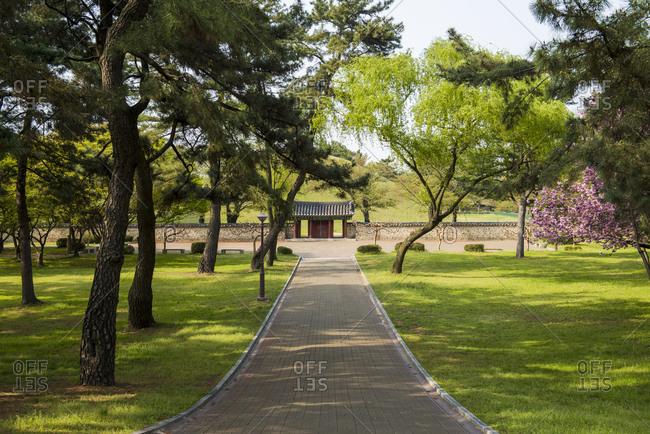 Daereungwon Tomb Complex- Gyeongju- South Korea