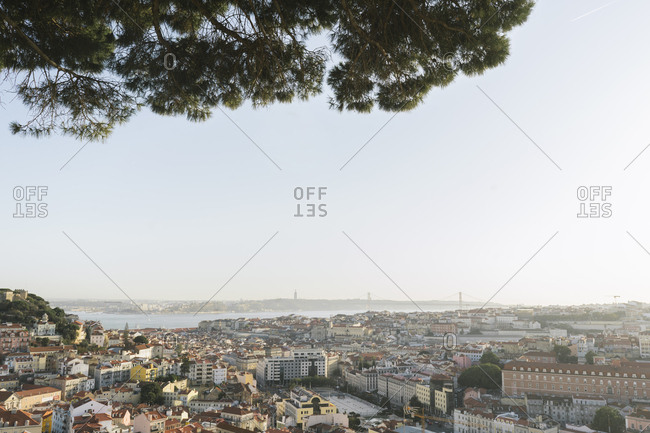 September 5, 2019: Panoramic view of the city- Lisbon- Portugal