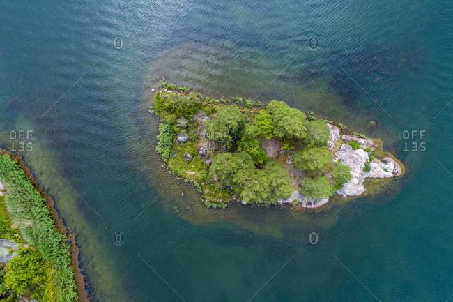 An island by the shores of Luftahammar, Kalmar