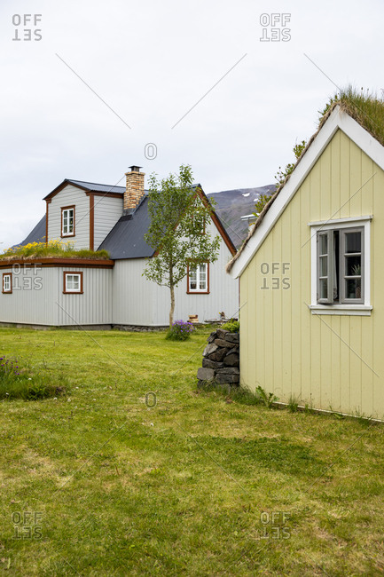 Traditional homes in Stykkisholmur, Iceland